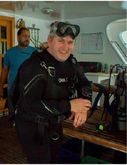 Declan Burke - on board