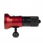 Audacious Dive Light Series 189 Front Ball - Red