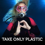 Leave Bubbles Take Only Plastic