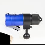 Cruit Video Light Series 5K Adapter Ring Ball – Blue