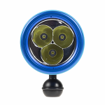 Doolin Dive Light Series 4K Spot Front Ball – Blue