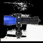 Mulroy Duiklamp Serie 1K Wide Ring Adapter - Blauw