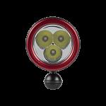 Doolin Dive Light Series 4K Spot Front Ball – RedDoolin Dive Light Series 4K Spot Front Ball – Red