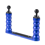 Bluestack Bodemplaat - 2 Handvaten Bal - 30cm - Blauw