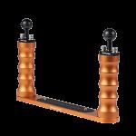 Bluestack Bodemplaat - 2 Handvaten Bal - 30cm - Oranje