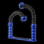 Bluestack Bodemplaat - 2 Flex-armen - 30cm - Blauw