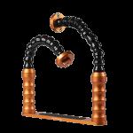 Bluestack Bodemplaat - 2 flex-armen - 30cm Oranje