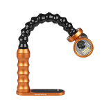 Bluestack Dive Light Tray - Flex-arm - 15cm - Series 189 - Orange