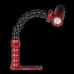 Bluestack Dive Light Tray - Flex-arm - 15cm - Series 5K - Red
