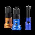 Downings Duiklamp Set Audacious Arran - Blauw - Oranje